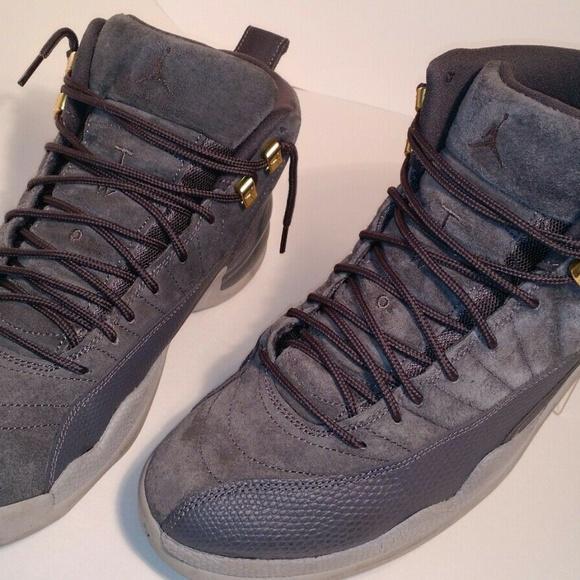 c84957bae20 Jordan Shoes | Nike Air Retro 12xii Dark Grey Wolf Sz 105 | Poshmark